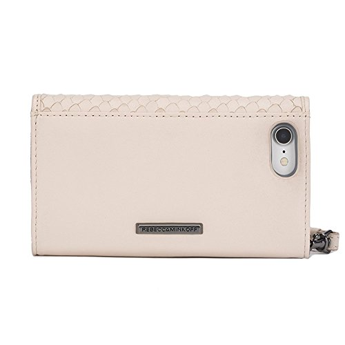 Rebecca Minkoff Love Lock Wristlet for iPhone X - Nude Snakeskin - RMIPH-050-SNAKE