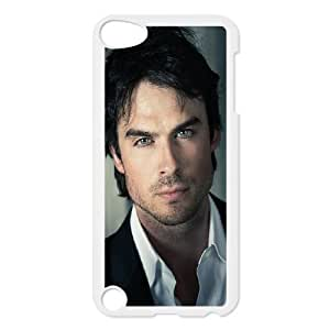 iPod Touch 5 Phone Case White Ian Somerhalder NLG7803386