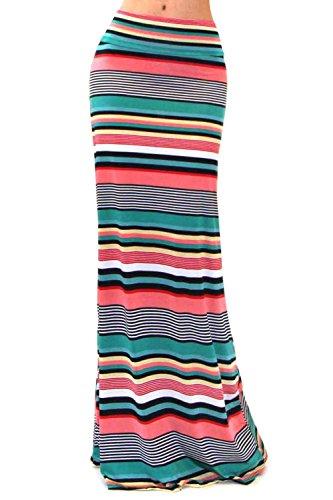 VIVICASTLE Womens Asymmetric Striped Waist product image