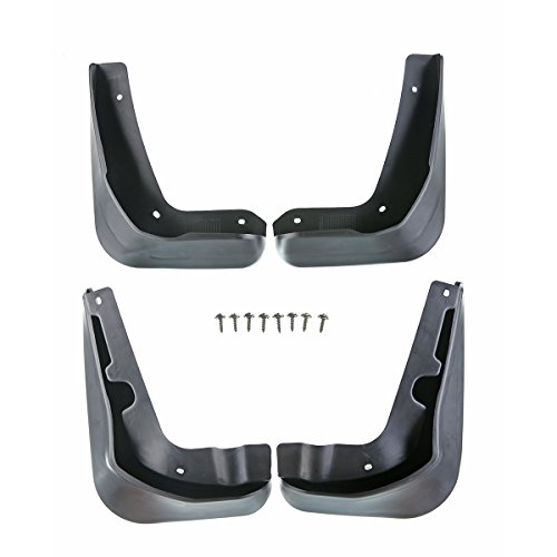 A-Premium Splash Guards Mud Flaps Mudflaps for Ford Focus 2012-2016 Sedan only 4-PC Set ()
