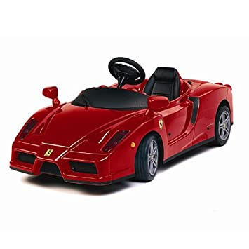 New Kids Red Enzo Ferrari 12v Electric Ride On Car Uk