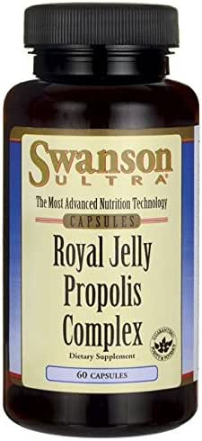 Swanson Royal Jelly Propolis Complex 60 Capsules