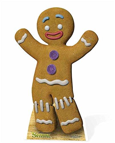 SC787 Gingerbread Man Cardboard Cutout Standup