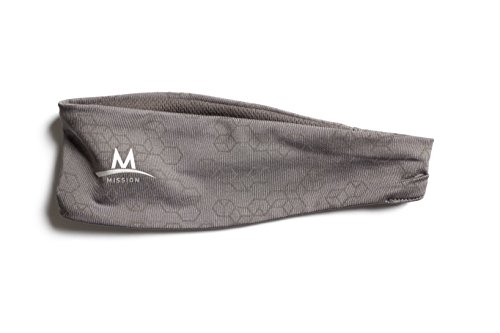Mission Enduracool Reflective Cooling Headband, Charcoal