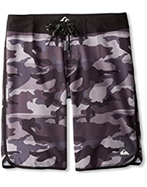 Mens Camo Scallop 21 Boardshorts