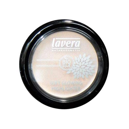 Lavera Soft Glowing Cream Highlighter, No.02 Shining Pearl, 0.14 Ounce