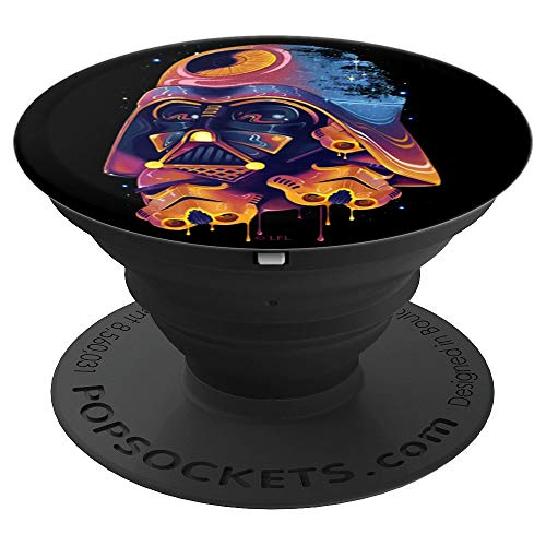 Star Wars Darth Vader Trooper Helmets Psychedelic Drip - PopSockets Grip and Stand for Phones and Tablets
