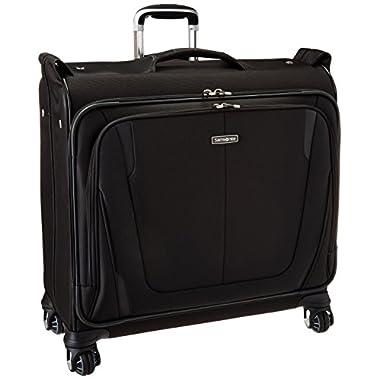 Samsonite Silhouette Sphere 2 Softside Deluxe Voyager Garment Bag, Black, One Size