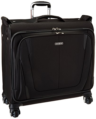 Samsonite Silhouette Sphere 2 Softside Deluxe Voyager Garment Bag, Black, One Size