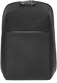 """Naturalife 15.6""""Mochila antirrobo para ordenadores portátiles con cremallera oculta, candado, puerto de carga USB, gran capacidad de carga e impermeable para la universidad, trabajo y viajes"""