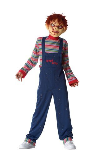 [Chucky Costume Boy - Child Medium/Large by Costume Culture] (Chucky Costumes For Children)