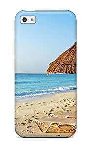 New Shockproof Protection Case Cover For Iphone 5c/ Beach Vacation Spot Case Cover