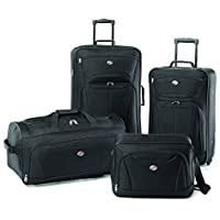 American Tourister Luggage Fieldbrook II 4 Piece Set + $13.59 Credit