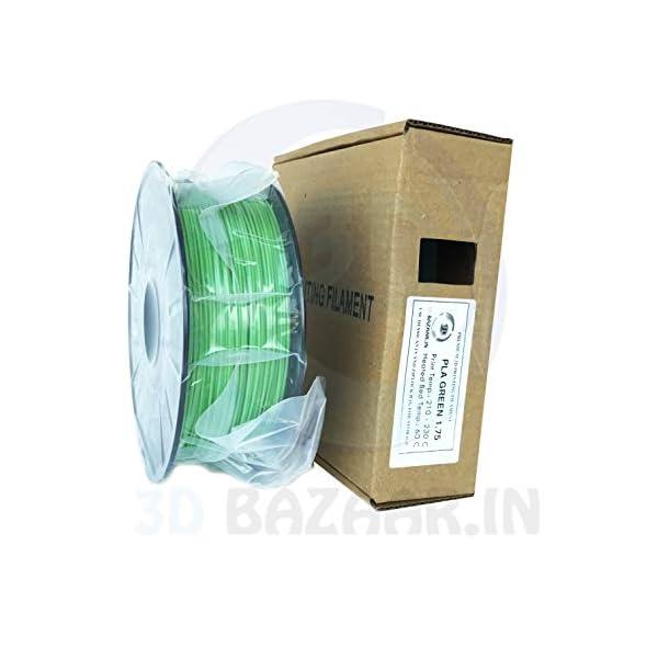 3D Bazaar 1 Kg PLA 3D Filament (1.75 mm, Green)
