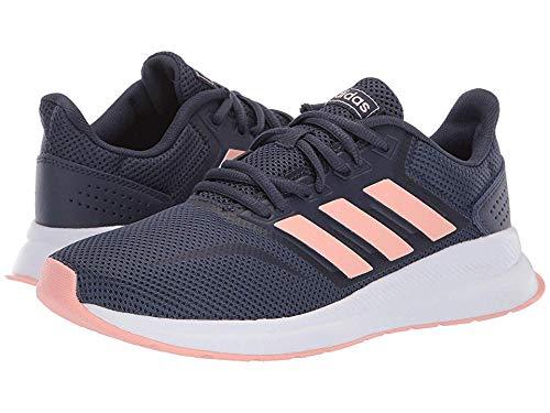 (adidas Women's Falcon Trace Blue F17/Dust Pink/Trace Blue F17 7 B US)