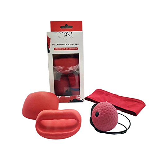 Yooan Fight Ball Reflex Sport Magic Boxing Reflex Speed Training Punch Exercise Gloves Ball Band Set by Yooan