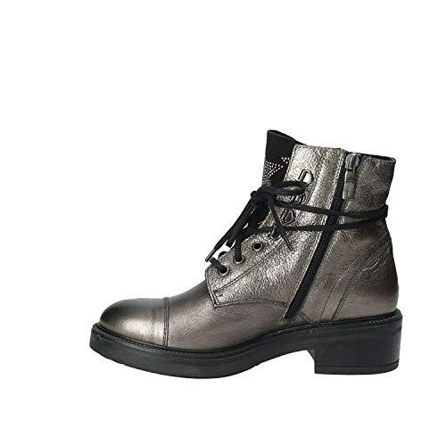Mally Frauen Silber Stiefeletten 6019 37 wqSwvx0r