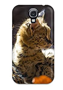Nannette J. Arroyo's Shop New Style New Serval Tpu Case Cover, Anti-scratch TashaEliseSawyer Phone Case For Galaxy S4