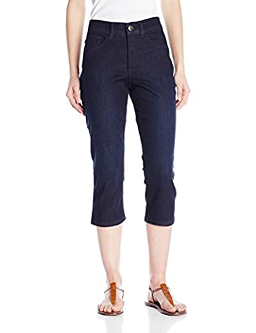 Lee Women's Petite Easy Fit Frenchie Capri Jean, Legacy, 12 Petite - Dungaree Collection