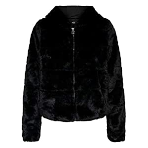 Only Onlchris Fur Hooded Jacket Otw Noos Giacca Donna 18