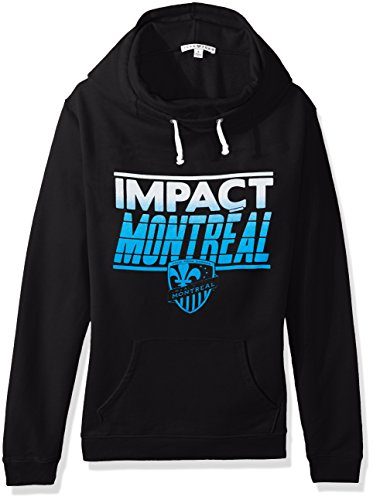 fan products of MLS Montreal Impacts Women's Major League Soccer Cowl Pullover, Large, Trek