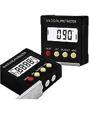 0-360° LCD Digital Protractor Inclinometer Gauge Level Angle Finder Inclinometer Magnet Base