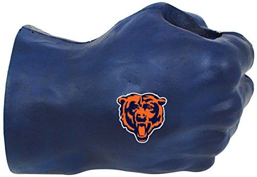 NFL Chicago Bears Fan Fist TM Beverage Holders, Adult, Midnight Blue ()