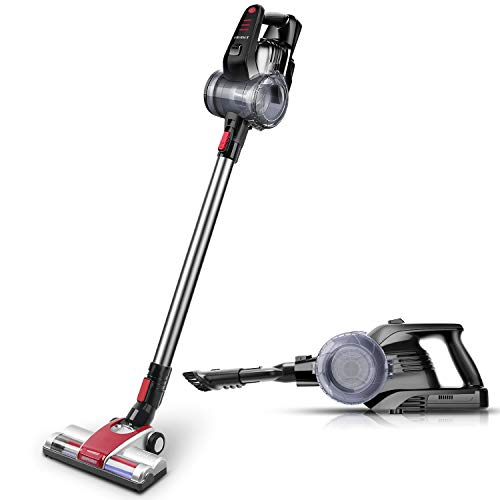 ELEHOT 2 in 1 Cordless Stick Vacuum Cleaner Handheld Use Powerful Suction With...