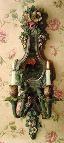 Thornetree Castle Mirrored Wall Sconce