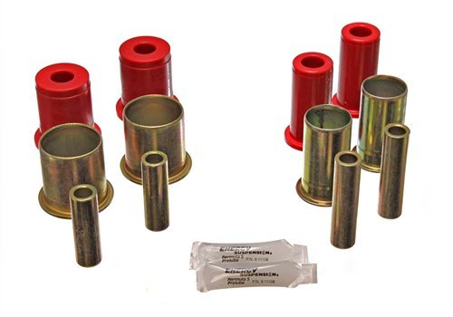 Energy Suspension Camaro Front Bushings - Energy Suspension 3-3157R Front Control Arm Bushing Set 1982-92 Camaro/Firebird