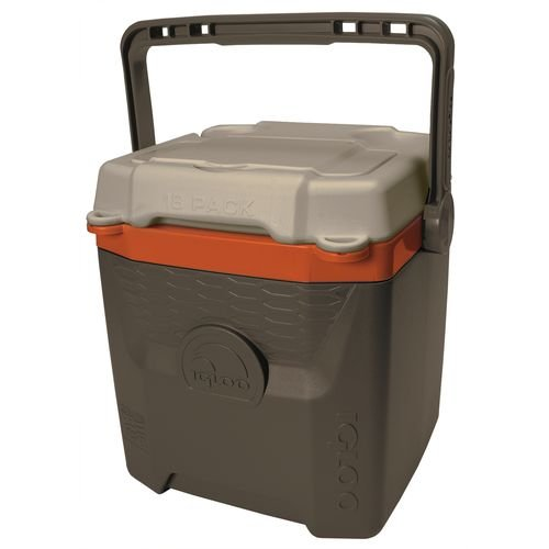 Igloo Quantum 18 Can Cooler Brown Liter 12 Qt Volume