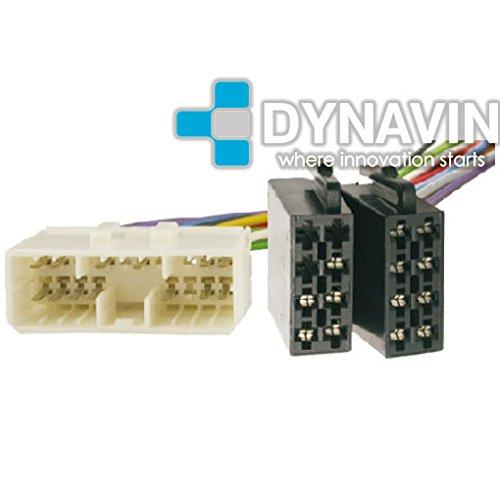 ISO-DAEWOO.20 - Conector iso universal para instalar radios en Daewoo. Dynavin