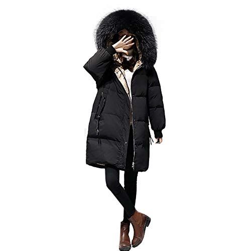Warm à rembourré noir S Teenager capuche C col adult adolescente Keep en M beige Sweat Veste Doudoune et fourrure L Grand long respirant ZSwgXqx