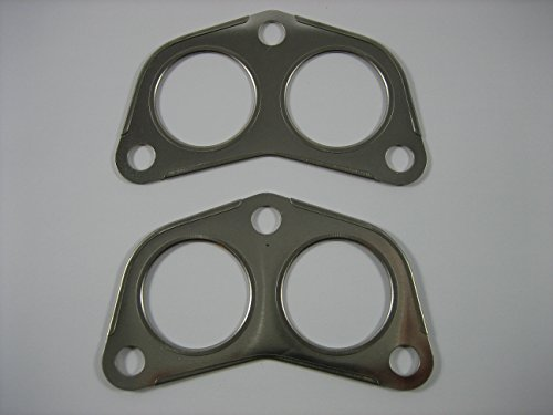 - Exhaust Manifold to Pipe Gasket Set of 2 by Allmakes 4x4