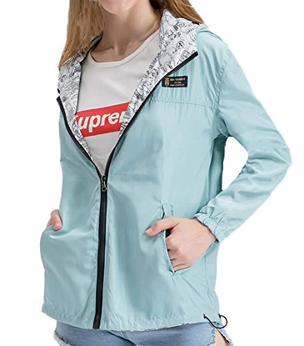 Outerwear Coat Cappotto Jacket Manica Hoodie Donne Moda Verde Cime Giacche Giovane Lunga Tops Con fashion Cerniera Giacca Simple Cappuccio Vento A Felpa Casual Primavera Autunno 1Rx0784