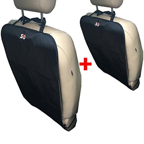 UPC 637230767832, SPD Car Kick Mat, 2 Set Kick Mats for Car Seat Back Protector, Car Seat Liner