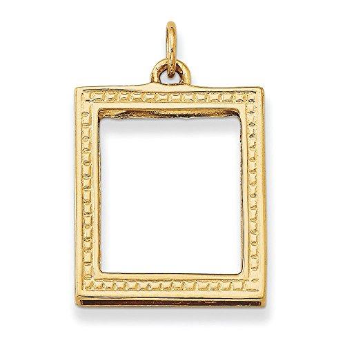 Cadre photo 14 Carats Pendentif JewelryWeb