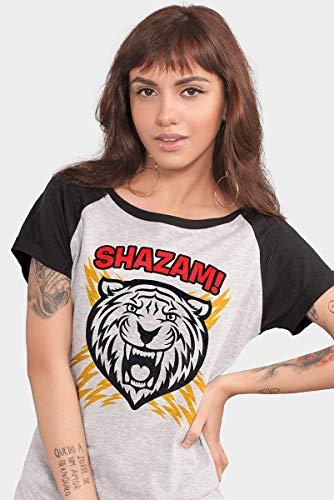 Camiseta Shazam Tiger Oficial Feminina