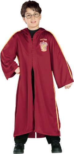 [Harry Potter Quidditch Robe, Large] (Harry Potter Costumes Robe)