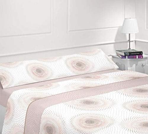 Juego S/ÁBANAS Completo Polar 3 Piezas Pirineo Oto/ño-Invierno Doble Cara Calidad 150 g Energy Colors Textil-Hogar T/érmicas 8002 Beige, Cama 135