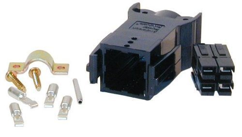 Rectangular Connector, Powerpole Pak Series, 4 Contacts, Plug, Crimp