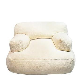 Amazon.com: newco puf de niños Sherpa Cuddle silla, color ...