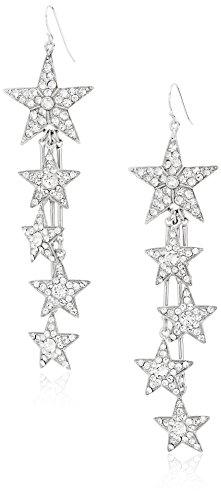 (Ben-Amun Jewelry Rock Star Swarovski Crystal Drop Fish Hook Drop)