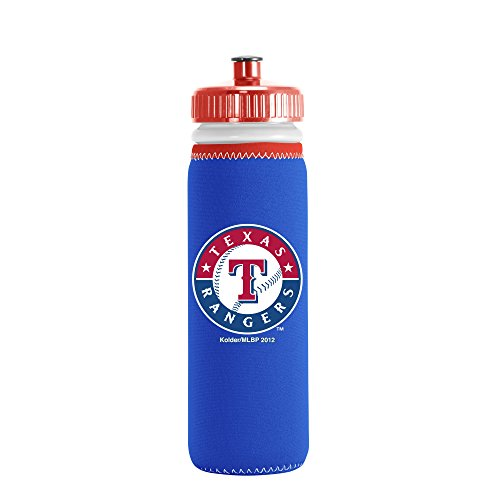- Kolder Licensed Inc. MLB Texas Rangers Van Metro Sports Bottle, Blue, 22-ounce
