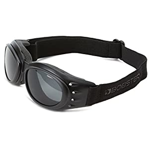 Bobster Cruiser 2 Goggles, Black Frame/3 Lenses (Smoked, Amber and Clear)
