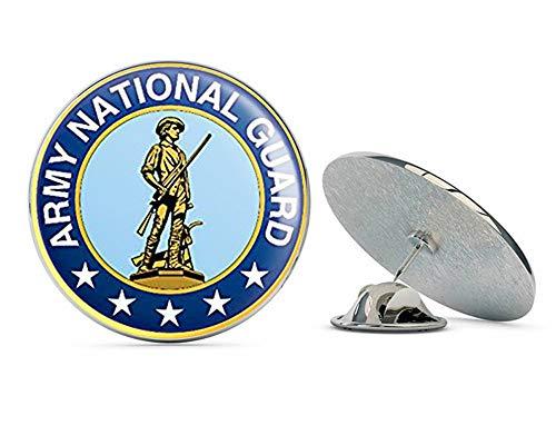 NYC Jewelers Round Army National Guard Logo ic Metal 0.75