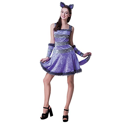 Cat Costumes For 14 Year Olds (Totally Ghoul Dream Cat Costume, Teen one size fits most)