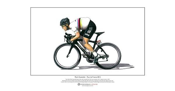 Amazon.com: Mark Cavendish – Tour de Francia 2012 – Edición ...