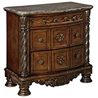 North Shore Nightstand in Dark Wood CLEARANCE
