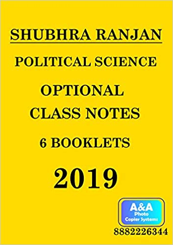 Amazon in: Buy Political Science Optional Class Notes By Shubhra